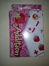 NIP Strawberry Shortcake Addition Flash Cards in Camp Lejeune, North Carolina