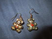 Bear pierced earrings in Westmont, Illinois