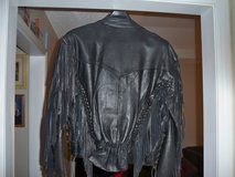 LADY'S MEDIUMLEATHER MOTORCYCLE JACKET in Fort Campbell, Kentucky