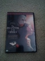 Phantom of the Opera dvd in Camp Lejeune, North Carolina