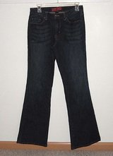 New York & Company Westside Flare Jeans Womens 6 in Plainfield, Illinois