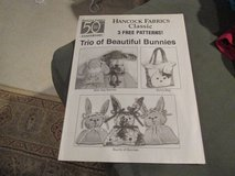 FREE -- 3 Free Fabric Bunny Patterns in Houston, Texas