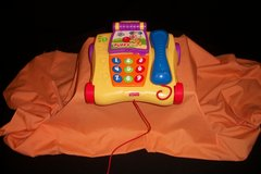 FISHER PRICE COUNTING FRIENDS TALKING MUSICAL PULL TELEPHONE (T=40/4) in Fort Campbell, Kentucky