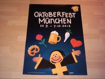 Oktoberfest Original Poster 2012 in Ramstein, Germany