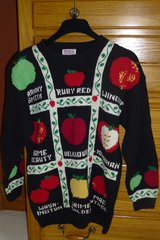 Apple Sweater With Names in Naperville, Illinois