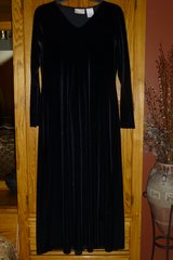 Worthington Black Velvet Evening Dress in Naperville, Illinois